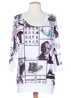 GEISHA T-shirt / Top BLANC Top FEMME (photo)