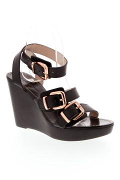 MELLOW YELLOW Chaussure NOIR Sandales/Nu pied FEMME (photo)