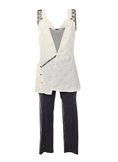 ALL BEAUTIFUL Ensemble BLANC T-shirt / Pantalon FEMME (photo)
