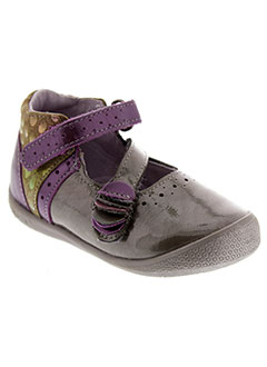 BABYBOTTE Chaussure GRIS Ville FILLE (photo)
