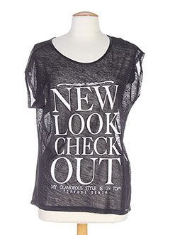 TIFFOSI T-shirt / Top NOIR Manche courte FEMME (photo)
