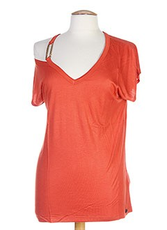 TIFFOSI T-shirt / Top ORANGE Manche courte FEMME (photo)