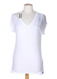 TIFFOSI T-shirt / Top BLANC Manche courte FEMME (photo)