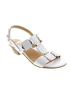 SWEET Chaussure BLANC Sandales/Nu pied FEMME (photo)