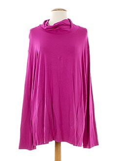 OPEN END T-shirt / Top ROSE Sous-pull FEMME (photo)