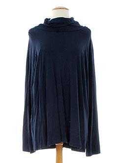 OPEN END T-shirt / Top BLEU Sous-pull FEMME (photo)