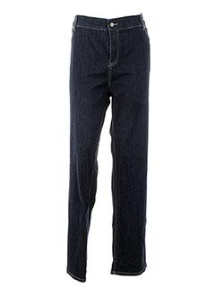 OPEN END Pantalon BLEU Pantalon décontracté FEMME (photo)