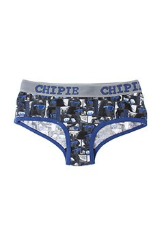 CHIPIE Lingerie BLEU Shortys/Boxer FILLE (photo)