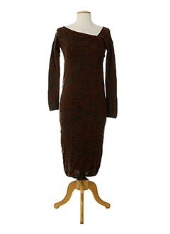 MISSONI Robe MARRON Robe longue FEMME (photo)