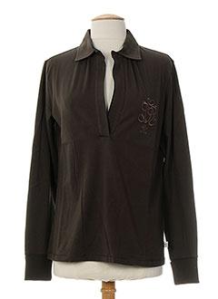 CERRUTI 1881 T-shirt / Top MARRON Polo FEMME (photo)