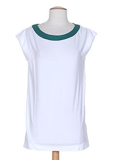PIAZZA SEMPIONE T-shirt / Top BLANC Manche courte FEMME (photo)
