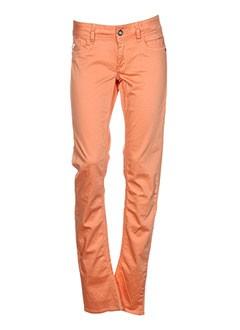 G STAR Pantalon ORANGE Pantalon décontracté FEMME (photo)