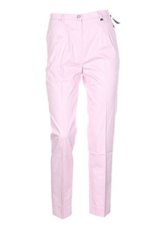 BRUNO SAINT HILAIRE Pantalon ROSE Pantalon citadin FEMME (photo)