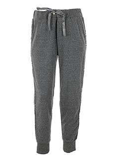 BANANA MOON Pantalon GRIS Jogging FEMME (photo)