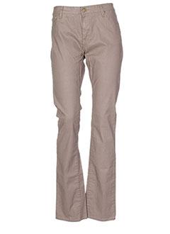 ACQUAVERDE Pantalon MARRON Pantalon citadin FEMME (photo)