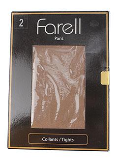 FARELL Lingerie BEIGE Bas/Collant FEMME (photo)