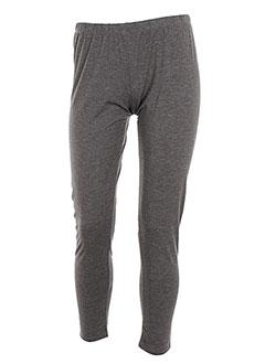 SMASH WEAR Pantalon GRIS Legging FEMME (photo)