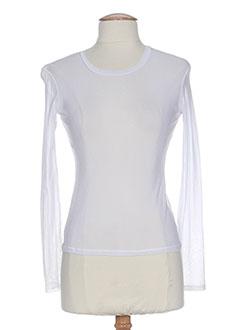 LA PETITE FRANCAISE T-shirt / Top BLANC Top FEMME (photo)