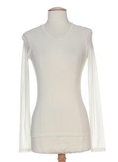 LA PETITE FRANCAISE T-shirt / Top BEIGE Top FEMME (photo)