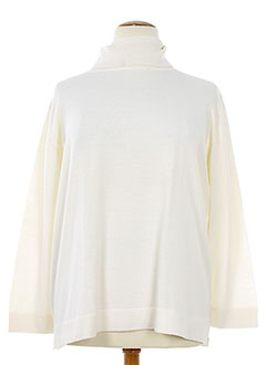 GELCO Pull BEIGE Col cheminée FEMME (photo)