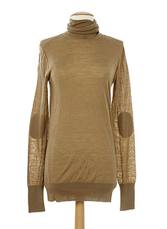 FORTE-FORTE Pull BEIGE Col roulé FEMME (photo)