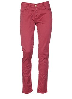 TIFFOSI Pantalon ROUGE Pantalon décontracté FEMME (photo)