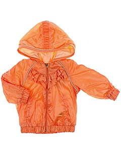 CATIMINI Manteaux ORANGE Blouson FILLE (photo)