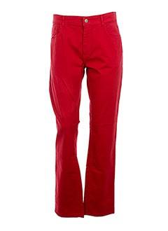 LUCCHINI Pantalon ROUGE Pantalon décontracté FEMME (photo)