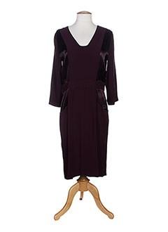 LA PETITE FRANCAISE Robe ROUGE Robe longue FEMME (photo)