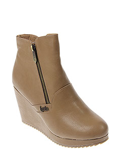 LES P'TITES BOMBES Chaussure BEIGE Boot FEMME (photo)