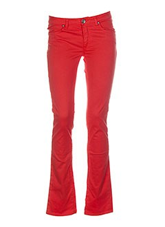 SAVE THE QUEEN Pantalon ORANGE Pantalon décontracté FEMME (photo)
