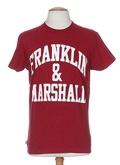 FRANKLIN MARSHALL T-shirt / Top ROUGE Manche courte HOMME (photo)
