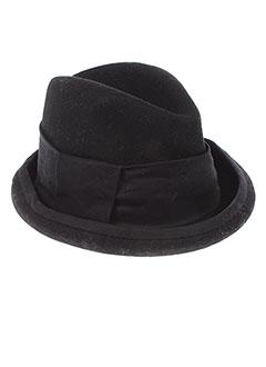 FORTE-FORTE Accessoire NOIR Chapeaux/Bonnet FEMME (photo)