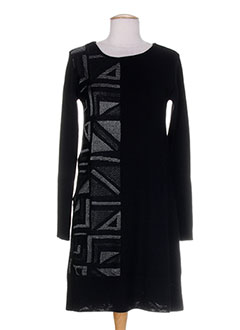 SAVE THE QUEEN Robe NOIR Robe pull FEMME (photo)