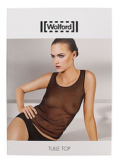 WOLFORD Lingerie NOIR Tops/Caraco FEMME (photo)