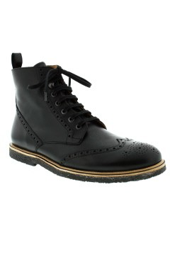 PAUL & JOE Chaussure NOIR Boot HOMME (photo)