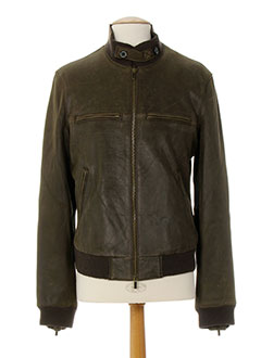 ARMANI Manteaux MARRON Blouson HOMME (photo)