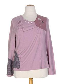 ALL BEAUTIFUL T-shirt / Top ROSE Manche longue FEMME (photo)