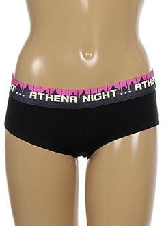 ATHENA Lingerie ROSE Shortys/Boxer FILLE (photo)