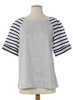 PIAZZA SEMPIONE T-shirt / Top BLEU Top FEMME (photo)