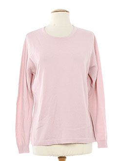 SWEET Pull ROSE Col rond FEMME (photo)
