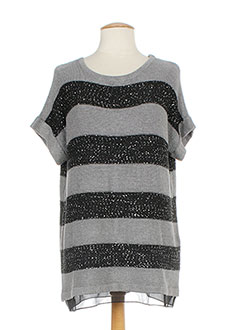 GERRY WEBER Pull GRIS Pull-tunique FEMME (photo)