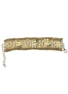 AMBRE BABZOE Bijoux BEIGE Bracelet FEMME (photo)