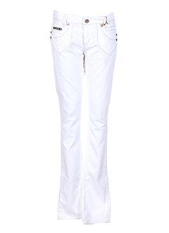 KAPORAL Pantalon BLANC Pantalon décontracté FEMME (photo)