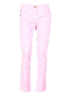 LE PHARE DE LA BALEINE Pantalon ROSE Pantalon décontracté FEMME (photo)