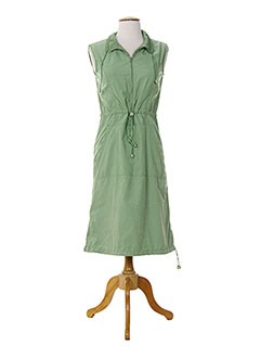 15 DEGRES SUD Robe VERT Robe mi-longue FEMME (photo)