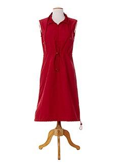 15 DEGRES SUD Robe ROUGE Robe mi-longue FEMME (photo)