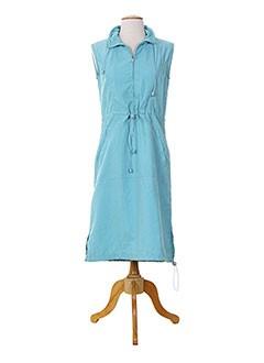 15 DEGRES SUD Robe BLEU Robe mi-longue FEMME (photo)