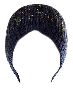 PIECES Accessoire BLEU Chapeaux/Bonnet FEMME (photo)