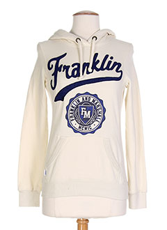 FRANKLIN MARSHALL Pull BEIGE Sweat FEMME (photo)